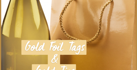Make Your Gifts Look Good With Large Foil Gift Tags