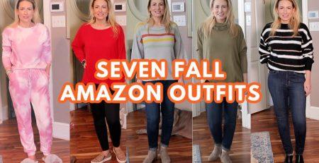 SEVEN Fall Amazon Fashion Outfits Random Amazon Haul