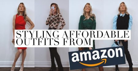 STYLING AMAZON FASHION FOR THE HOLIDAYS ft Grace Karin