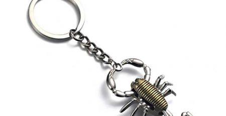 Scorpio Scorpion Keyring Mens Womens Metal Keychain