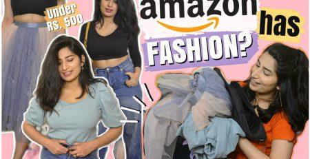 UNDER 500 AMAZON FINDS huge amazon fashion haul
