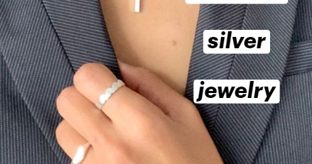 Womens timeless simple silver jewellery minimalist jewelry