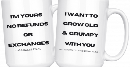 Youre Stuck With Me Funny Mug Set For Your Special