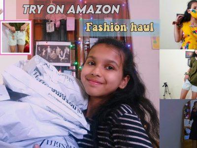 try on amazon fashion and beauty haul Pratha Tanwar