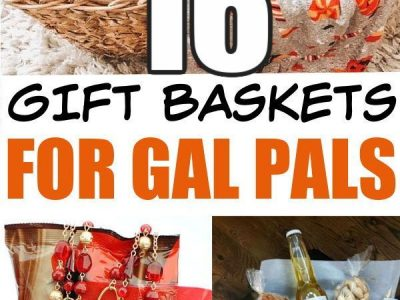 16 Gift basket Ideas for Her