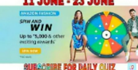 1624271426 Amazon Fashion Spin And Win Quiz Answers Today 11