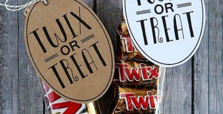 7 Halloween Printables – Sweet Treat Tags EverythingEtsycom