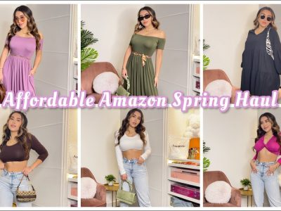 Affordable Spring Clothes Haul Amoretu Amazon Fashion tips