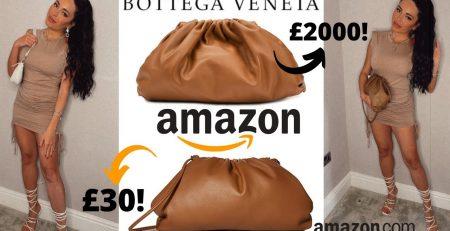 Amazon Fashion HaulBottega Veneta DupeTrendy Amazon Must Haves