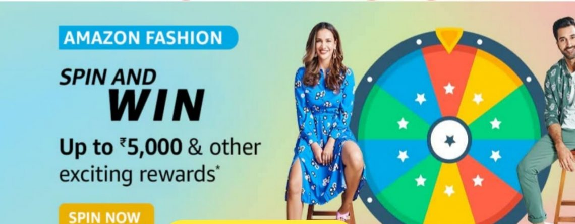 Amazon Fashion Spin And Win Quiz Answers Today WIN
