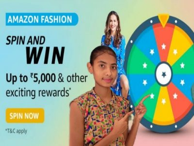 Amazon Fashion Spin And Win Up To ₹5000 amp Other