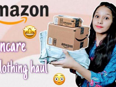 Amazon Skincare and Clothing haul Haul Miss Kate
