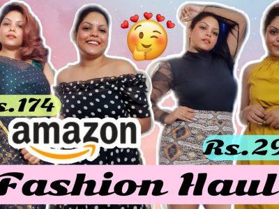 BEST AMAZON FASHION HAUL STARTS RS174 SALE HAUL