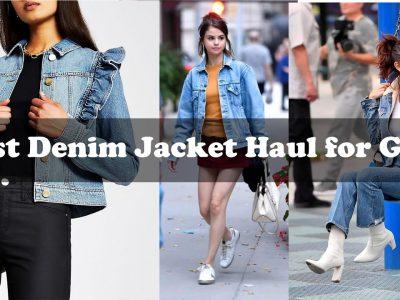 Best Denim Jacket Haul for Girls amazon fashion style Zara