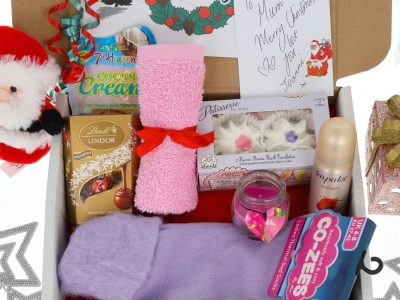 Christmas Gift Box Ladies Night In Bath Time Pamper