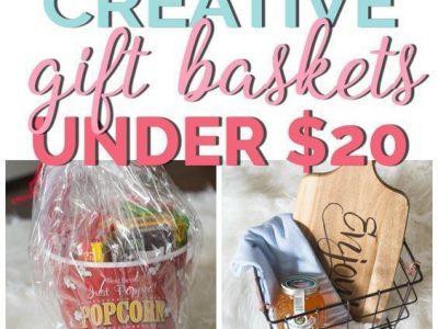 Creative Gift Basket Ideas Under 20