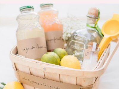 DIY Margarita Gift Basket Tutorial Classic Margarita Recipe