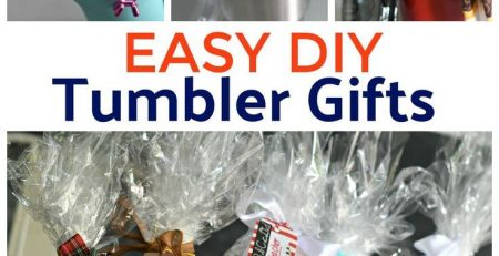 DIY Tumbler Gift Baskets Perfect For All Occasions
