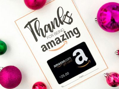 Free Amazon Gift Card Printable Great Gift Card Idea