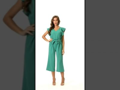 Green jumpsuit Fashion from Amazon