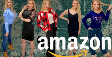 HUGE AMAZON CLOTHING TRY ON HAUL 2021 Grace Karin