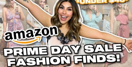 HUGE AMAZON FASHION HAUL Just In Time For PRIME DAY