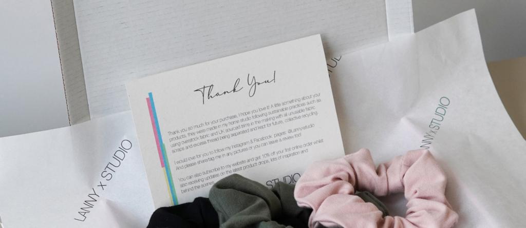 Jersey Scrunchie 3Pack Gift Idea