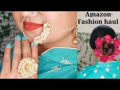 Latest Amazon Fashion haul Hair Accessories jewellery