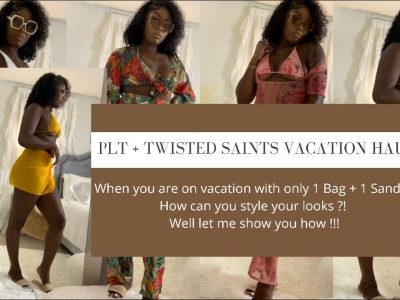 PRETTY LITTLE THING VACATION TRY ON HAUL TWISTED SAINTS SWIM