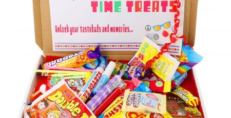 Retro Sweets Candy Sweets Letterbox Gift