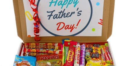 Retro Sweets Fathers Day Candy Sweets Letterbox Gift