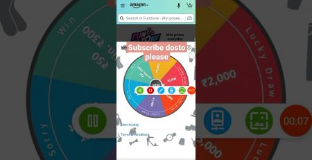 SPIN And WIN DAILY Amazon Fashion win upto rs one