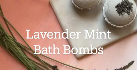Suberb Lavender Mint Bath Bombs