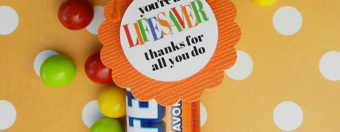 Youre a LIFESAVER—Thanks For All You Do Employee Appreciation Co Worker
