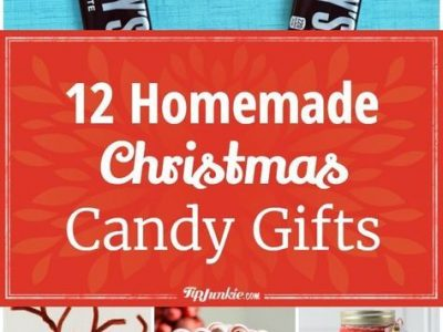 12 Homemade Christmas Candy Gifts Easy