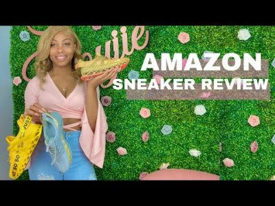 AMAZON FASHION SNEAKER REVIEW Just SO SO Haul
