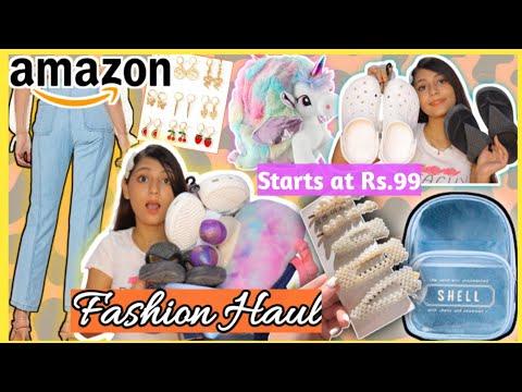 Amazon Fashion Haul 2021 Clothing footwear bagsamp much more starts