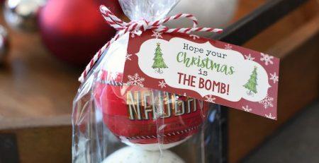 Christmas Bath Bombs The Inspiration Board