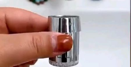 Colorful Temperature Sensor Faucet Tap