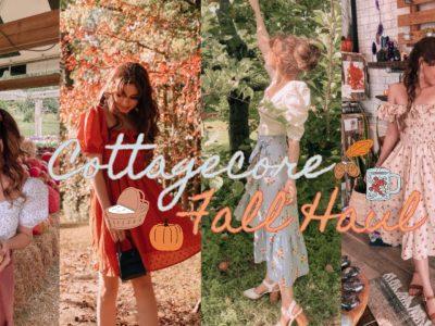 Cottagecore Fall Clothing Haul♡ Breath of Youth ASOS Amazon amp