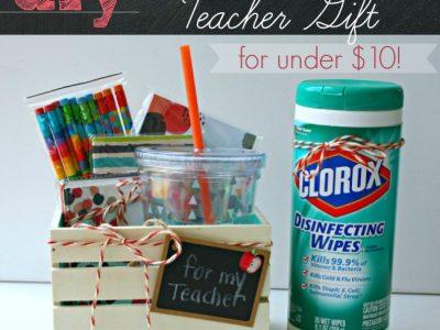 DIY Back to School Teacher Gift Ideas for Under 10