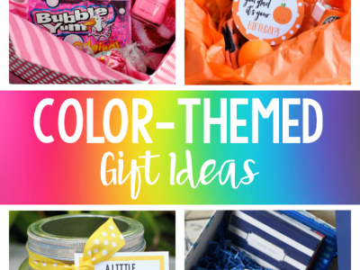 Fun Color Themed Gifts Gift Basket Ideas – Fun Squared