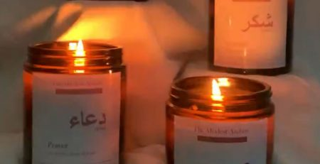 Gift your loved ones a handmade candle that reminds them