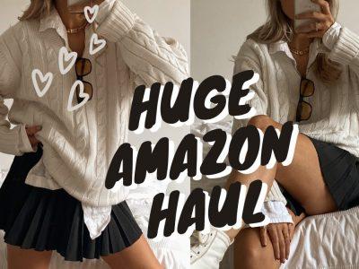 HUGE AMAZON FASHION HAUL NEW IN AUTUMN STYLING