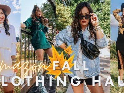 HUGE Amazon FALL Clothing Haul 30 Items