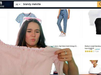 I Try Amazon39s quotBrandy Melvillequot Clothing aka Brandy DUPES FionaFrills