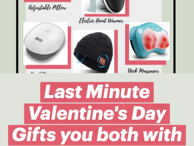 Last Minute Valentines Day Gifts you both with enjoy