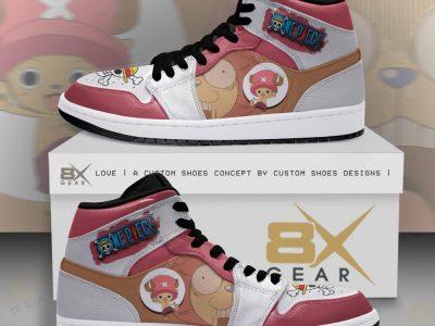 One Piece Tony Tony Chopper Like AJ Sneakers Fan Gift