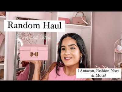 Random HaulPink amp Girly AMAZON FASHION NOVA amp MORE