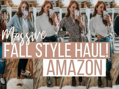 THE BIGGEST AMAZON FALL CLOTHING HAUL 25 PIECES Moriah
